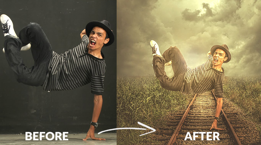 Photoshop effect